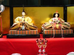 2010.3.、「倉敷中央病院のお雛様」、3