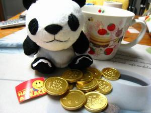 2010.、Valentine day、『扶実子ちゃんよりのチョコ』、「ハンプティー・ダンプティー」、縫い包み・コインチョコ・ダブルスープカップ、4