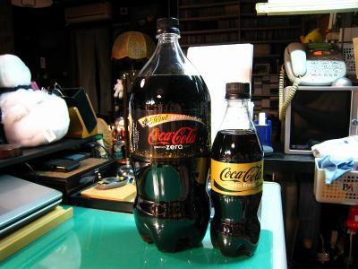 「コカコーラ・ゼロ」&「コカコーラ・ゼロフリー」、巨大ボトル