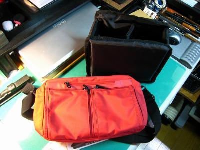 ケンコー「カメラ用ガードクッション、スクエア240」、普通のソフトバッグがカメラバッグに変身、3