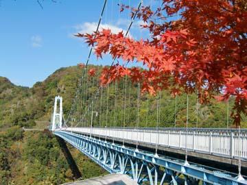 竜神峡大吊橋