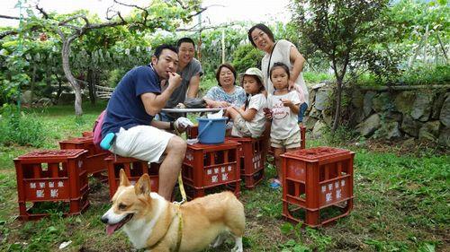 ペットOK山梨桃狩り日帰り家族旅行食べ放題時間制限なし