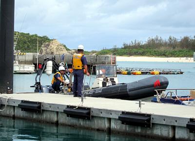 海上保安庁ゴムボート