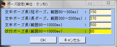 VOICEROIDせってい1
