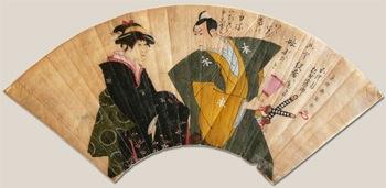 東洲斎写楽の幻の肉筆画