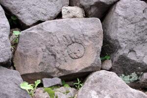 市ヶ谷見附の石垣の刻印