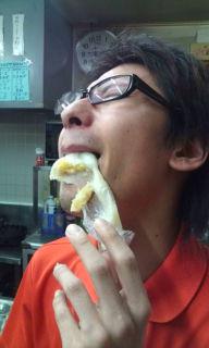 汚い食べ方☆