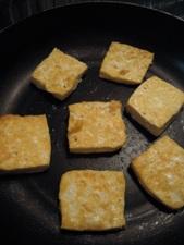 豆腐は一旦取り出して