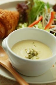 冷凍野菜でスープ3