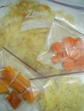 冷凍野菜でスープ8
