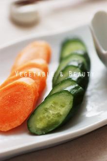 野菜の塩麹漬け