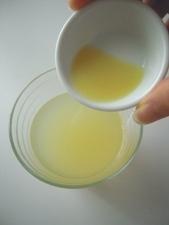 アップルジュースに生姜汁を加えるだけ!