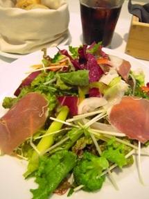 渋谷のお野菜たっぷりランチ2