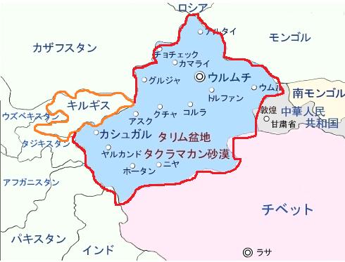 東トルギスタン