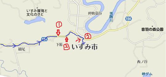 泉の森地図1