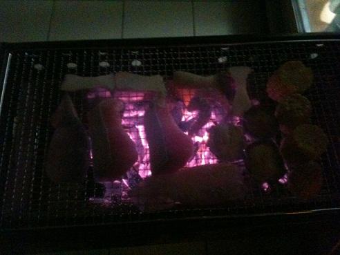 自宅BBQ