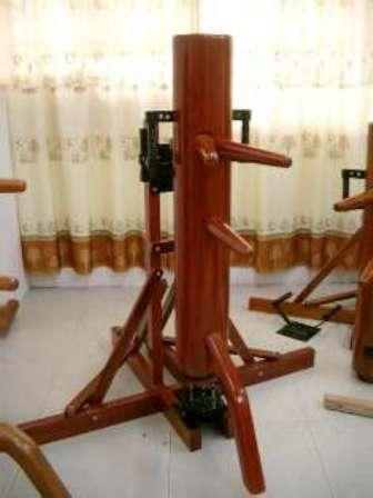 弾弓式自立型木人樁