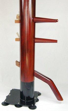 吸盤固定式木人樁