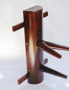 簡易式壁掛型木人樁