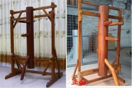 連架式自立型木人椿 1型 2型