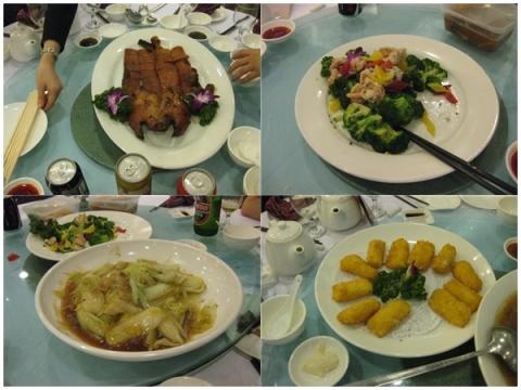 豪華な料理の数々