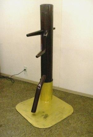 鉄板台座式自立型木人樁
