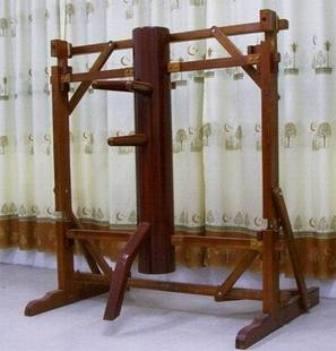 連架式自立型木人樁1型