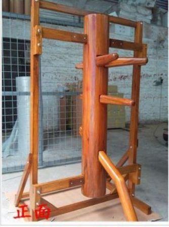 連架式自立型木人樁2型