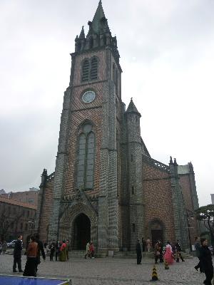 明洞大聖堂1