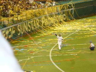 阪神vsDena&金本引退セレモニー15