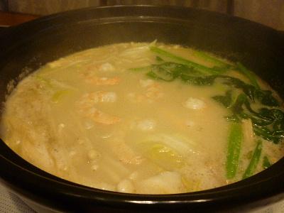 ごま豆乳鍋3