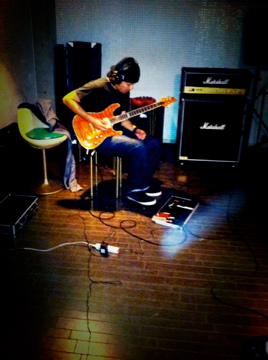 FIMのレコーディング、ギター録り終了か?次はヴォーカルだ!