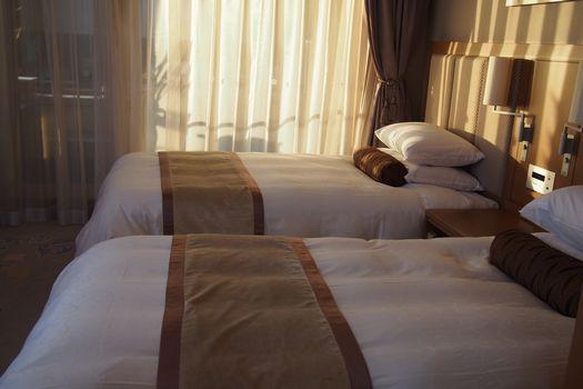 男部屋ベッド
