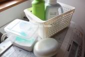 粉末洗剤と固形石鹸