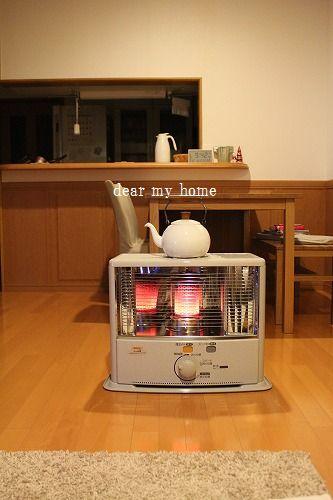 おにゅう。。新しいストーブ