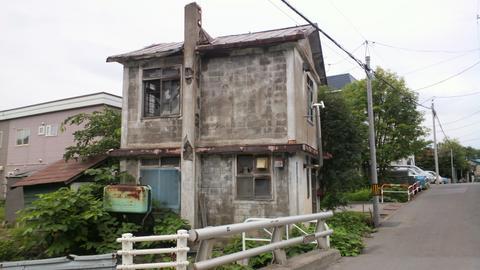 小樽市内廃墟---1