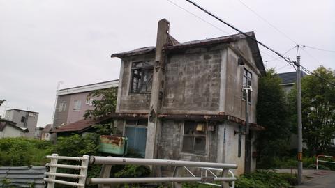 小樽市内廃墟
