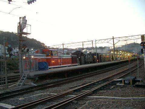 SLニセコ号(小樽駅)