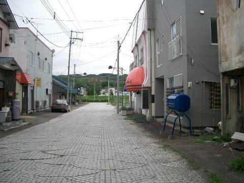 三笠平和通り飲食店街---2
