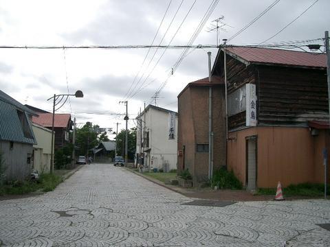 三笠平和通り飲食店街
