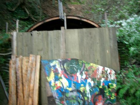 札幌旧小別沢トンネル(西区側)④