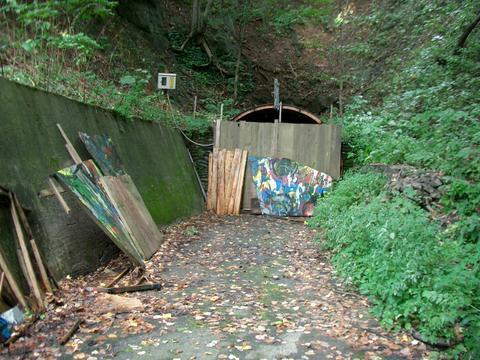 札幌旧小別沢トンネル(西区側)②