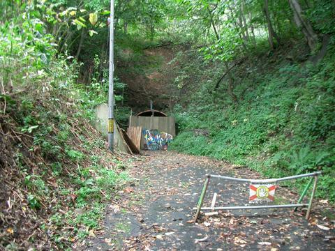 札幌旧小別沢トンネル(西区側)①