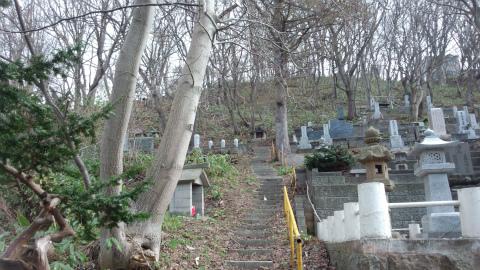小樽市内墓地4