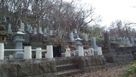 小樽市内墓地5