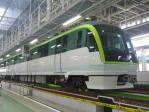 福岡市地下鉄橋下車両基地工場内(床下を検査できる場所)