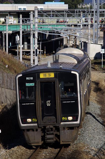 篠栗線の快速博多行817系
