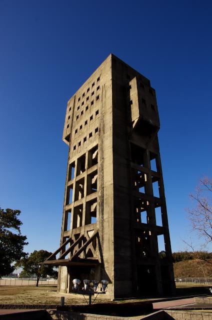 旧志免鉱業所竪坑櫓