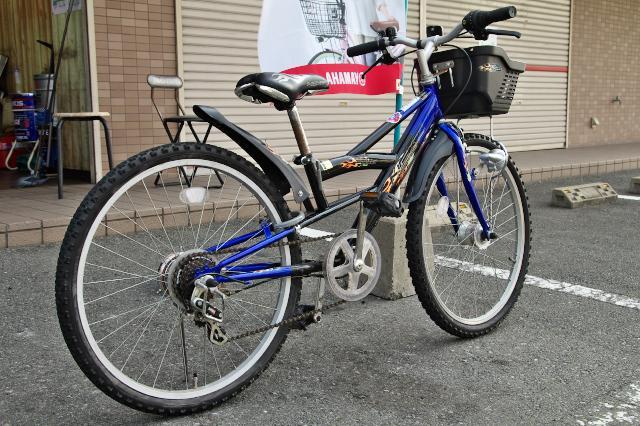 子供用の24インチ自転車