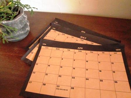 カレンダー再び4